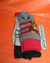 Bioworld 2 Pair Harry Potter Crew Socks 10-13 - $19.79