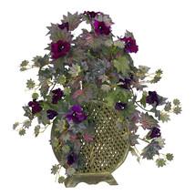 Morning Glory W/Decorative Vase Silk Plant - $73.99