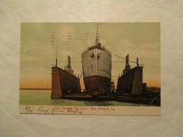 1907 New Orleans Dry Dock New Orleans Louisiana LA Postcard - $4.99