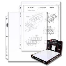 1 Case (1000) BCW PRO 1-POCKET DOCUMENT PAGES - 8.5 X 11 - $142.49