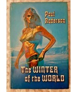 POUL ANDERSON: THE WINTER OF THE WORLD: HB w/JACKET: BOOK CLUB ED c. 1975 - $10.00