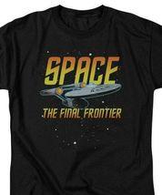 Star Trek Space The Final Frontier USS Enterprise graphic t-shirt CBS1170 image 3