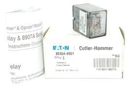 CUTLER-HAMMER 8530A-6501 OUTPUT DEVICE DPDT RELAY K10P-11D15-12 SER. A1 image 1