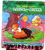 45 RPM Record Walt Disney Hansel - $8.59
