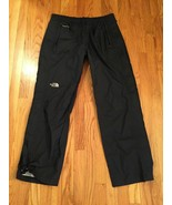 Women The North Face Hyvent DT Waterproof Windproof Black Pants Stow Poc... - $52.37