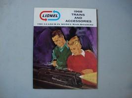 1968 Lionel Catalog Postwar Consumer Catalog New Unused O O27 Gauge Sets - $5.00