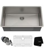 KRAUS Kitchen Sink 32 in. Undermount Insulated Single Bowl Stainless Steel - $283.45