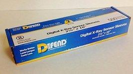 Defend BF-8100 Digital X-Ray Plastic Sensor Sleeves Plastic Sensor Cover... - $12.18