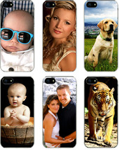 Personalized Photo iPhone 5 / 5s Custom Picture Direct Print on Hard Cas... - $12.16