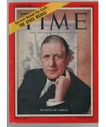Time - May 26, 1958 - France, Charles de Gaulle, Space Medics, Richard N... - $8.81