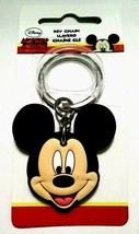 Hillman Group/Disney Metal/Rubber Split Ring Keyring Mickey Mouse Charac... - $13.78