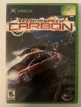 Need for Speed: Carbon (Microsoft Xbox, 2006) No Manual, Tested Working - $9.97