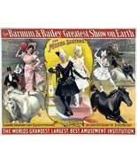 Wall Decoration Poster.Home Room art design.Circus Lady Equestriennes.11696 - $10.89+