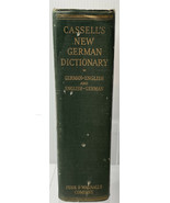 CASSELL'S NEW German and English DICTIONARY-Karl Bruel - $29.65