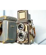 Yashica 44 -VERY RARE- Brown Version - Limited Edition - Cased c/w Strap... - $140.00