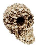 Ebros Ossuary Ghost Whisper Lost Souls Skull Statue Skeleton Graveyard O... - $17.81