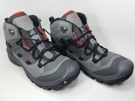 Keen Logan Mid Top Size US 10.5 M (D) EU 44 Men's Hiking Boots Gray Red 1013998