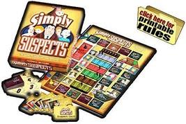Simply Suspects el Juego de Suspicion & Betrayal! Spy Alley Partners Mesa - $39.48