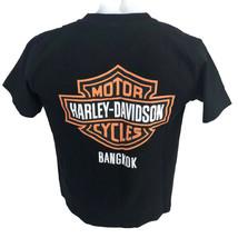Bangkok Harley Davidson Cafe Motorcycles Men's T-Shirt Thailand Size Med... - $23.33