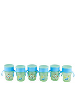 Philips Avent My First Big Kid Cup Green/Blue 9m+ 360 degree BPA Free 6 ... - $28.14