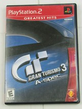 Gran Turismo 3 A-spec  (PlayStation 2, 2006) Greatest Hits - G248 - $4.74