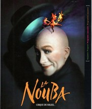 La Nouba 2000 Cirque Du Soleil Show Performance Program Book Disney World  - $9.79