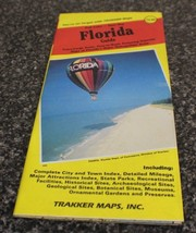 Trakker Maps 1993 Florida Guide - Full Color - Site Map - $6.00