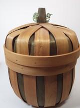 Shaker-like Basket Pumpkin with Lid - $281,94 MXN
