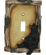 Rustic Switch Cover  Bear - €12,53 EUR