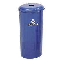 Safco 20 Gal. Commercial Recycling Receptacle With Lid - $88.12
