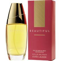 Beautiful By Estee Lauder Eau De Parfum Spray 2.5 Oz For Women 100% Authentic - $80.50