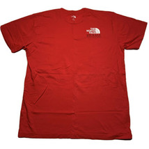 The North Face Men's Size Large Denali Alaska Graphic T Shirt Red Mountains - $39.93