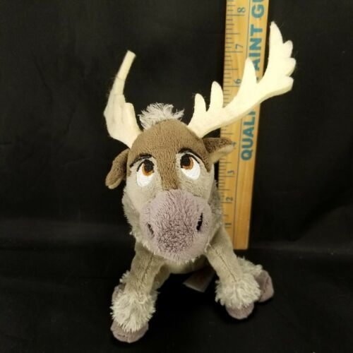 "Disney Plush Frozen Sven Reindeer Moose stuffed animal 7"" Ty Sparkle image 2"