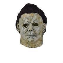 Xmecos Michael Myers Halloween Mask Cosplay Scary Horror Latex Masks Helmet - £41.12 GBP