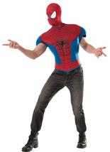 Spiderman 2 Top Adult Std Adult Men Costume - £29.05 GBP