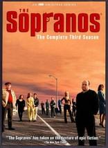THE SOPRANOS - THE COMPLETE THIRD SEASON NEW DVD - $78.60