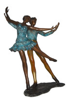 "A couple of Ballerina Dancers Bronze Statue -  Size: 21""L x 38""W x 57""H. - $2,160.00"
