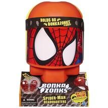 NEW Hasbro Bonkazonks Marvel Spider-Man Headquarters 2 Card 2 Figures Ho... - $11.64