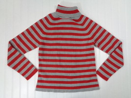 TOMMY HILFIGER Turtleneck Sweater Girls Youth Size XL Striped Long Sleev... - €1,88 EUR