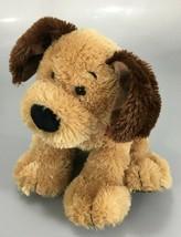 "Gund Bandit Brown Plush Puppy Dog 9"" Stuffed Animal w Bandana 4043796 - $19.55"