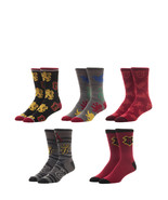 Harry Potter 5 Pack Casual Crew Socks Nwt - $19.99