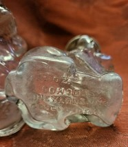 Antique Salt & Pepper Set Glass Dog COHODA'S Vineyards Inc. Geneva, Ohio image 2