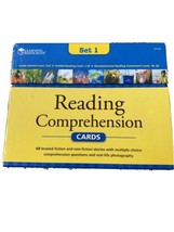 LEARNING RESOURCES Reading Comprehension Cards Set 1 2nd Grade Flash Car... - $18.95