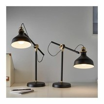 IKEA RANARP Work lamp with LED bulb, Black (Adjustable) - $48.02