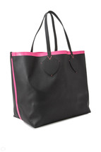 burberry canvas check bonding leather neon tote bag 44cm - $3,095.89