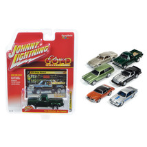 Classic Gold Release 2 Set B Set of 6 cars 1/64 Diecast Model Cars by Jo... - $57.86