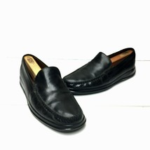 Mens COLE HAAN Air Dempsey Venetian Black Leather Loafer Size 8 M   - $34.64