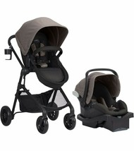 Baby Stroller with Car Seat Evenflo Pivot Modular Travel System - Tan - $318.31