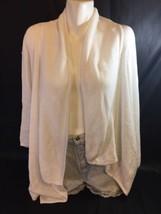 St.John Bay  Women White Blouse Size M 100% Cotton Made In China Bin35#23 - $11.30
