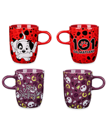 Disney Store Character Coffee Mug Jack Skellington 101 Dalmatians Patch ... - $69.95